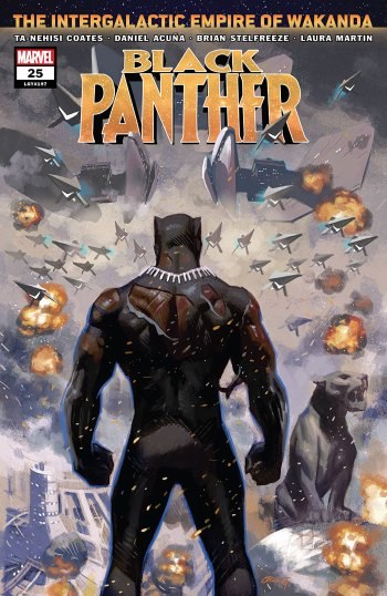 Black Panther #25 Cover