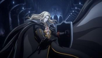 Alucard is stylin' in Castlevania s4