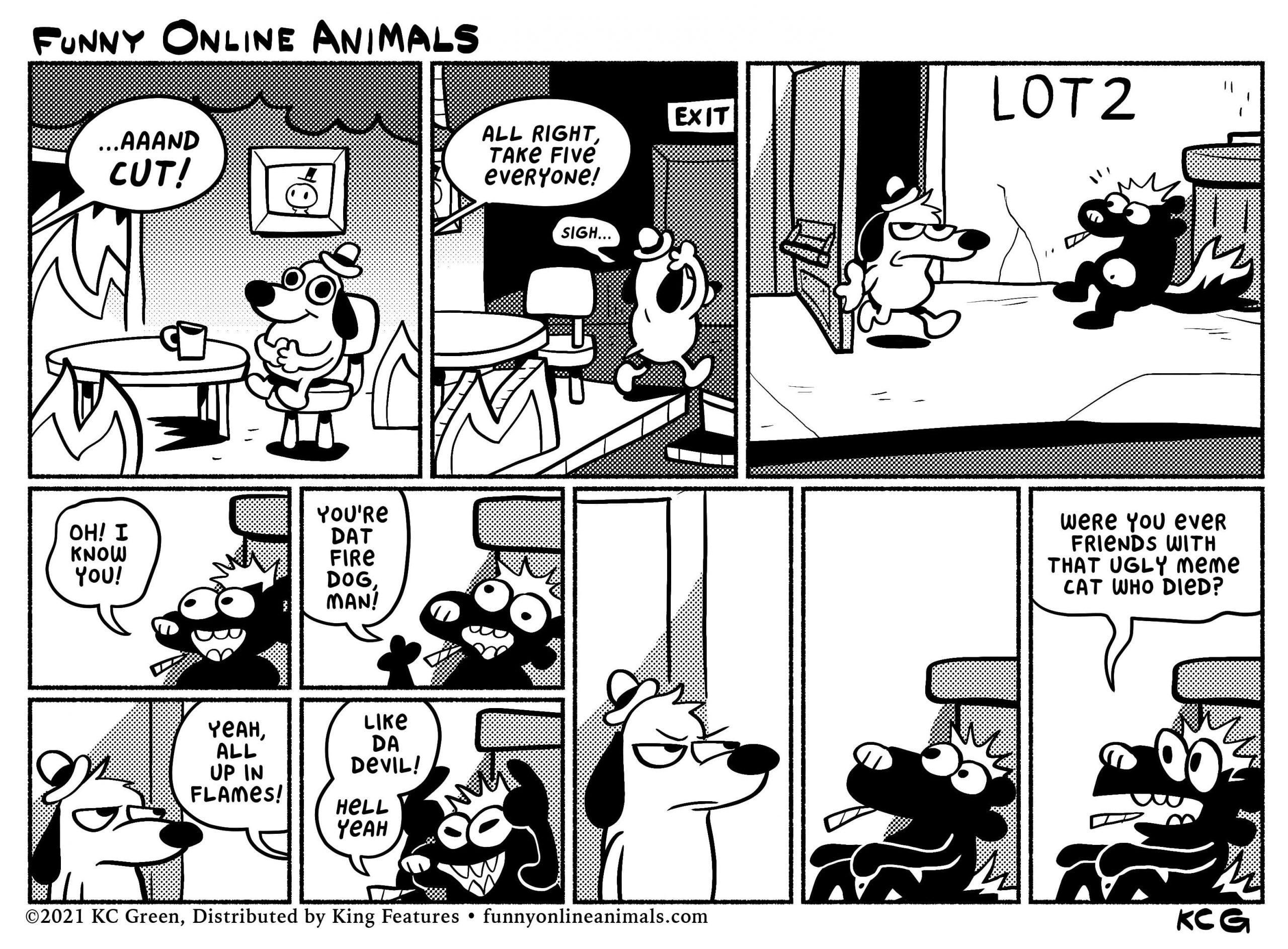 Funny Online Animals by KC Green.