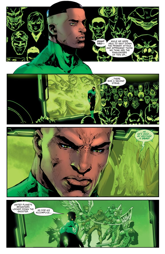 Green Lantern #2 page 3
