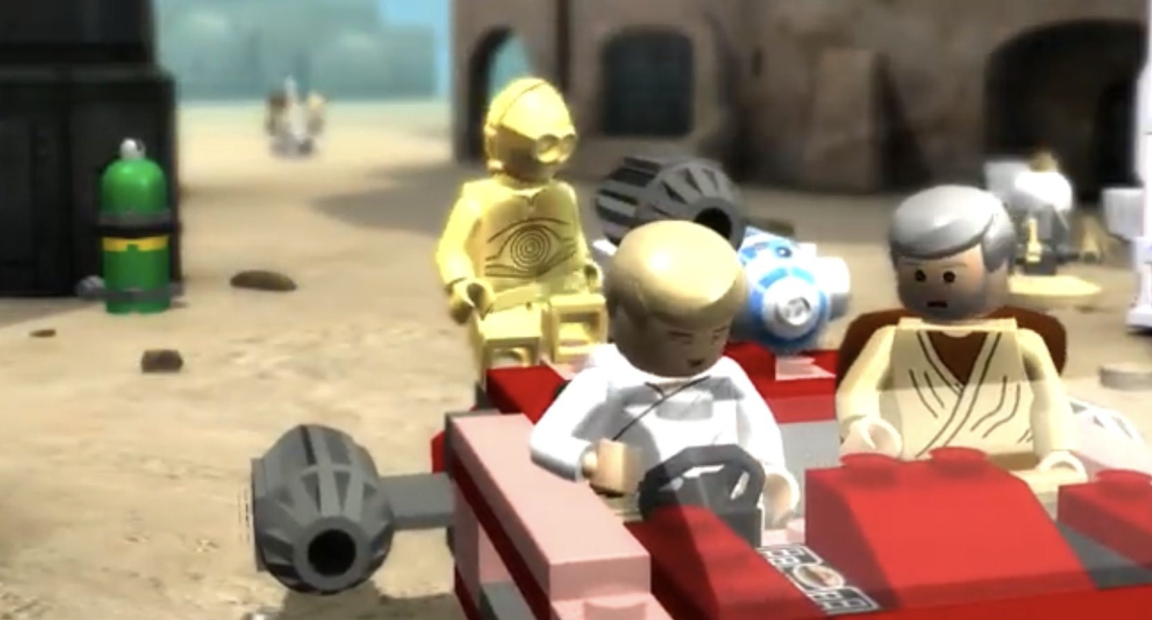 LEGO in the Mind's Eye: