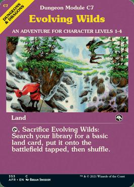 Evolving Wilds Adventure Module