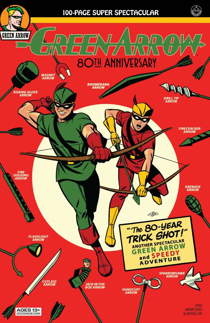 Green Arrow Special 1940s Cover