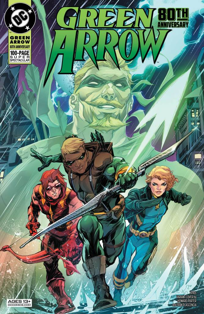 Green Arrow Special 1990s Cover