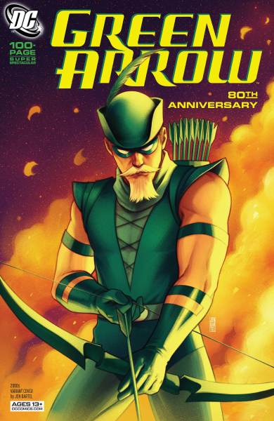 Green Arrow Special 2000s cover by Bartell