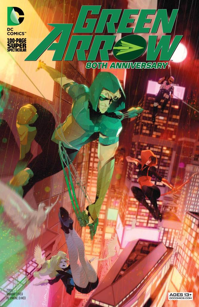 Green Arrow Special 2010s Cover