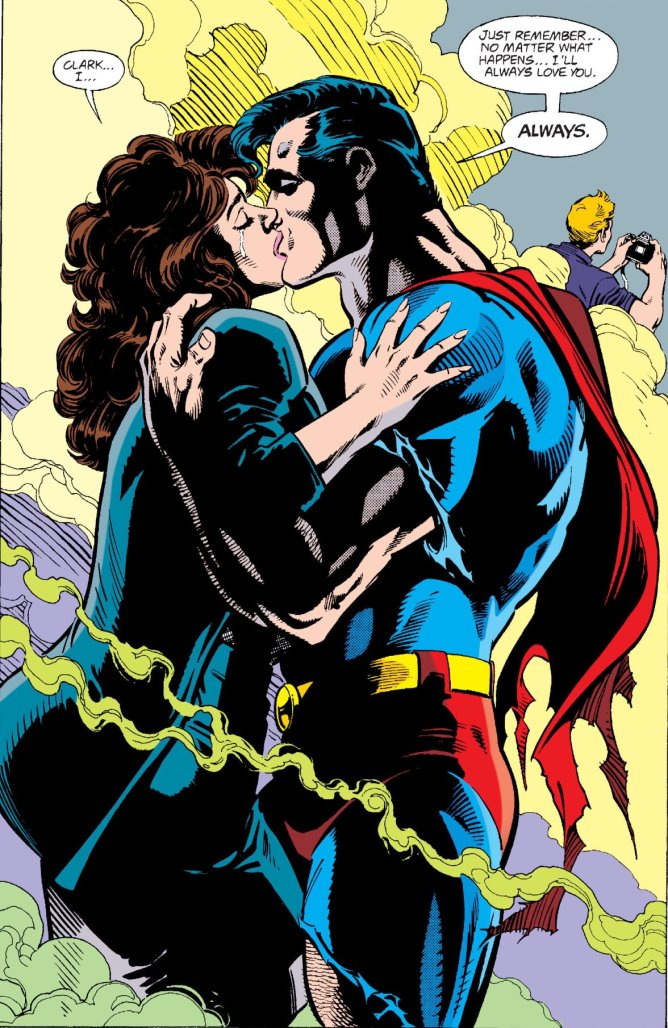 Superman and Lois share a final kiss in Superman #75
