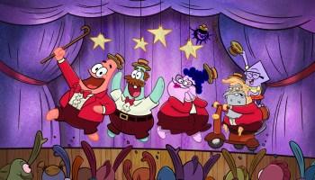 The Patrick Star Show panel