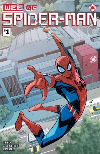 W.E.B. of Spider-Man #1 Cover