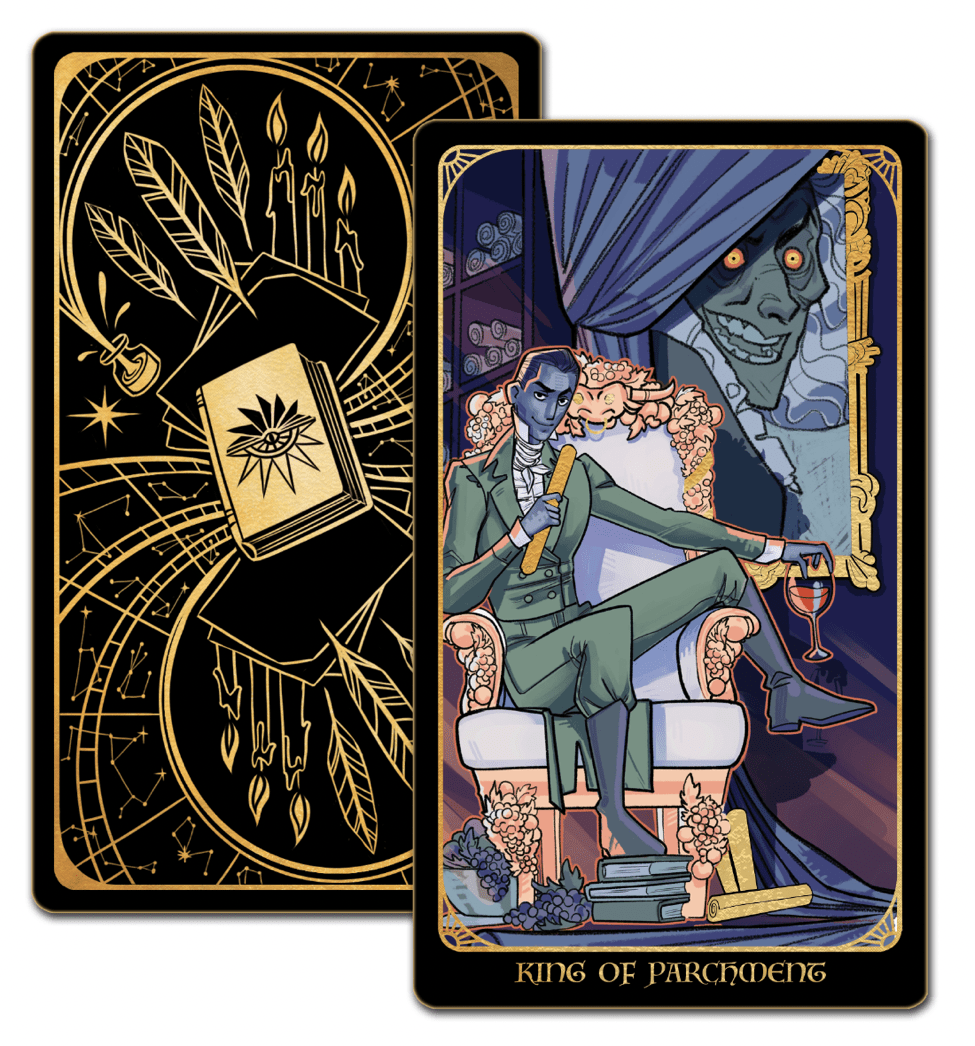 King of Parchment Tarot