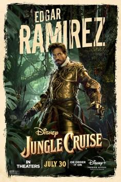 Jungle Cruise Edgar Ramirez