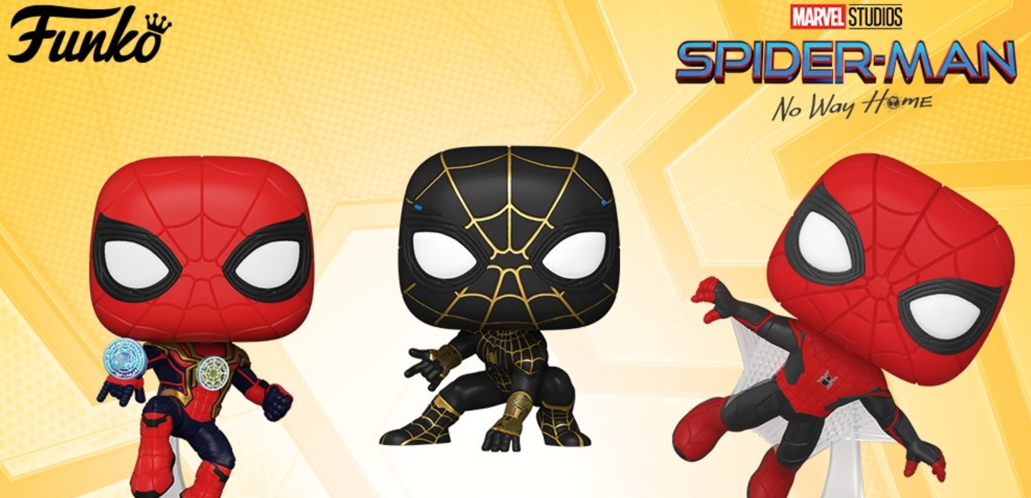 """New Spidey suits and """"strange powers"""" revealed in SPIDER-MAN: NO WAY HOME  merchandise - The Beat"""