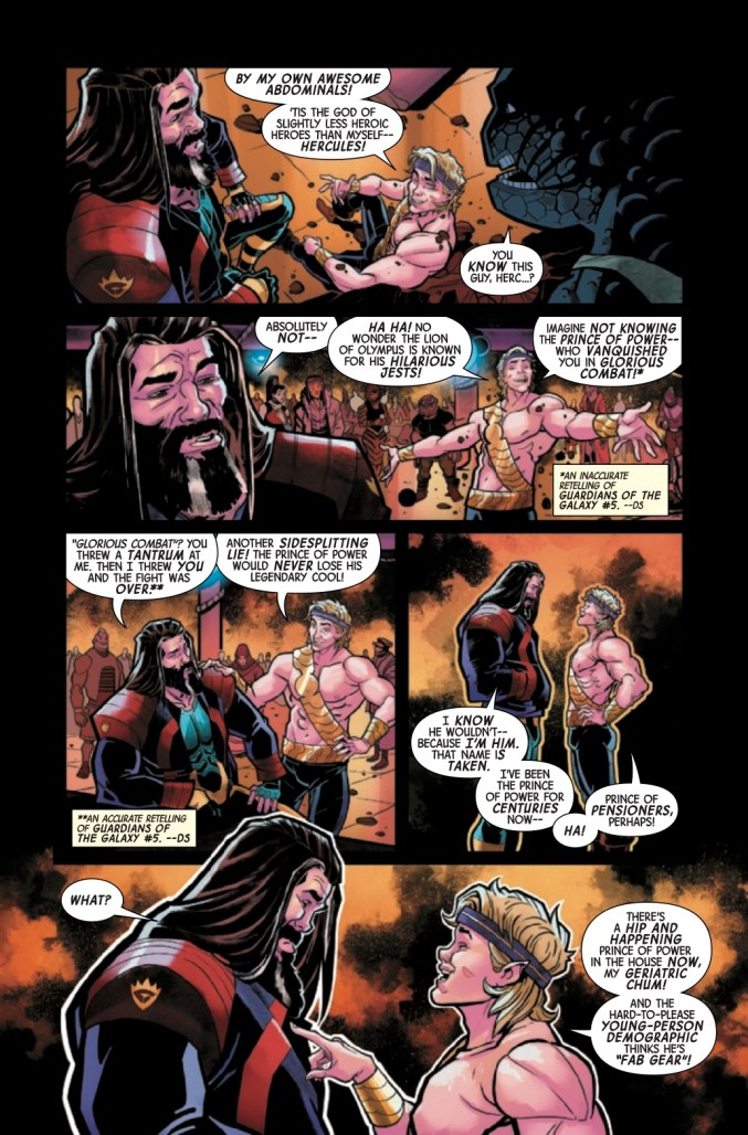 Page From Guardians of the Galaxy Annual #1