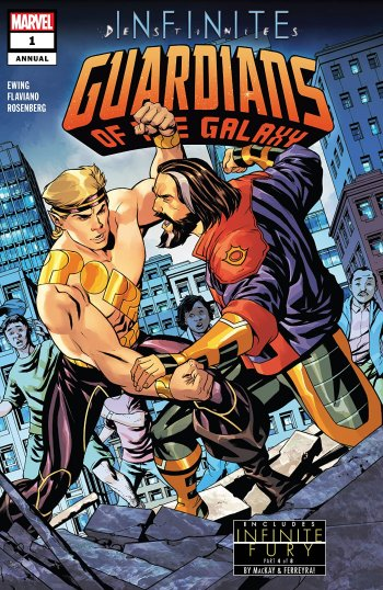 Guardians of the Galaxy Annual #1 Cover
