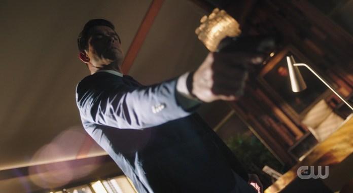 Hiram's got a gun