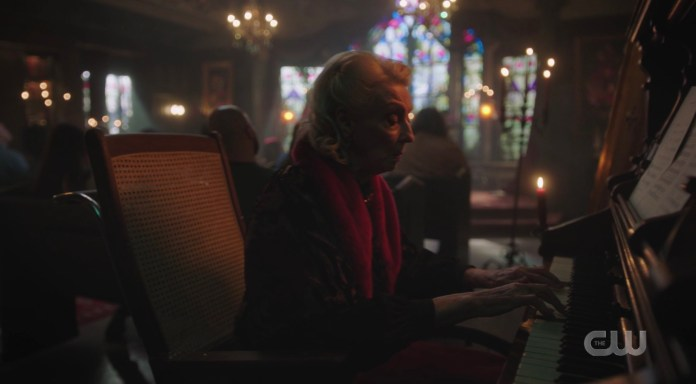 Nana Rose joined the Blossom Church as organist on Riverdale