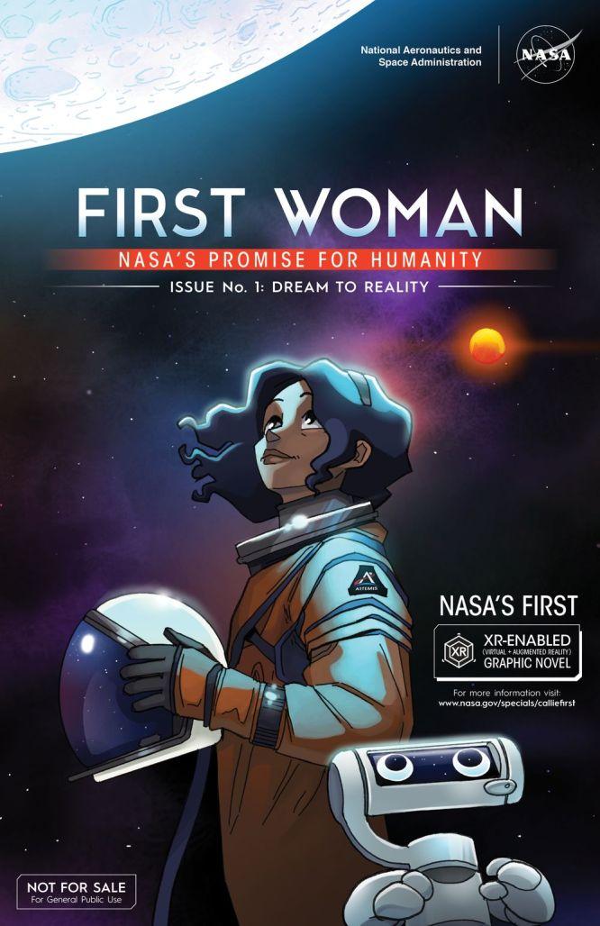 NASA's FIRST WOMAN debuts at NYCC '21