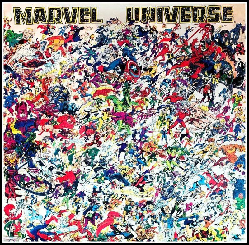 Marvel Comics All Stars Superheroes and Villains