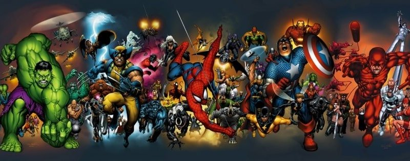 Marvel All Star Poster
