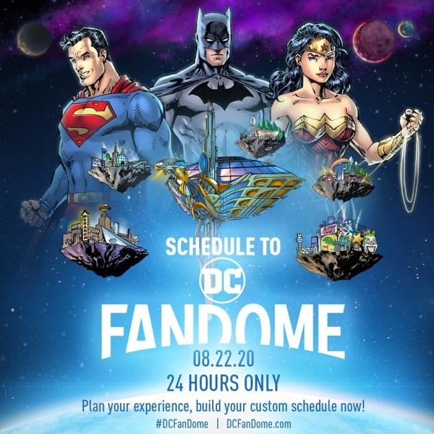 DC FanDome - Online Event - DC Comics