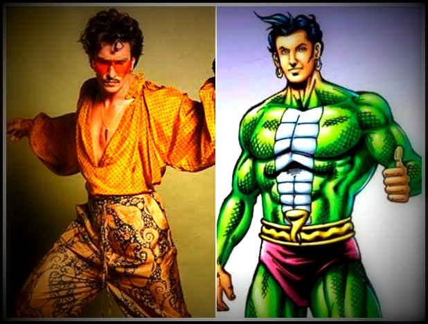 रणवीर सिंह और नागराज