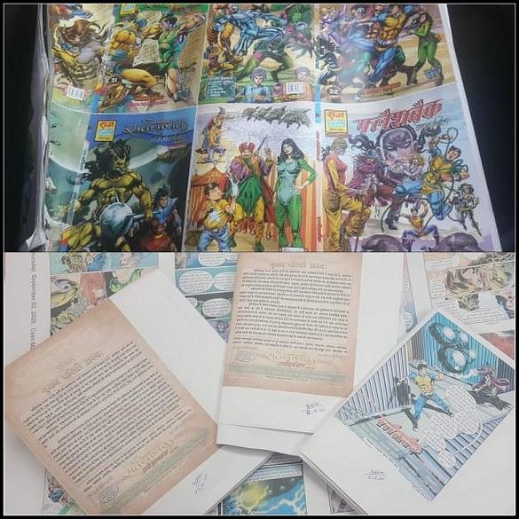 New Raj Comics Reprints - Balchartita - Saravnayak