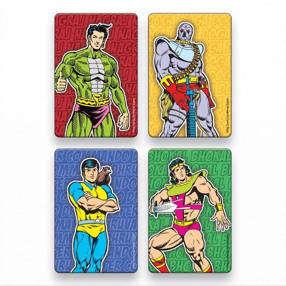Raj Comics By Manoj Gupta - Magnet Stickers - Comics Adda