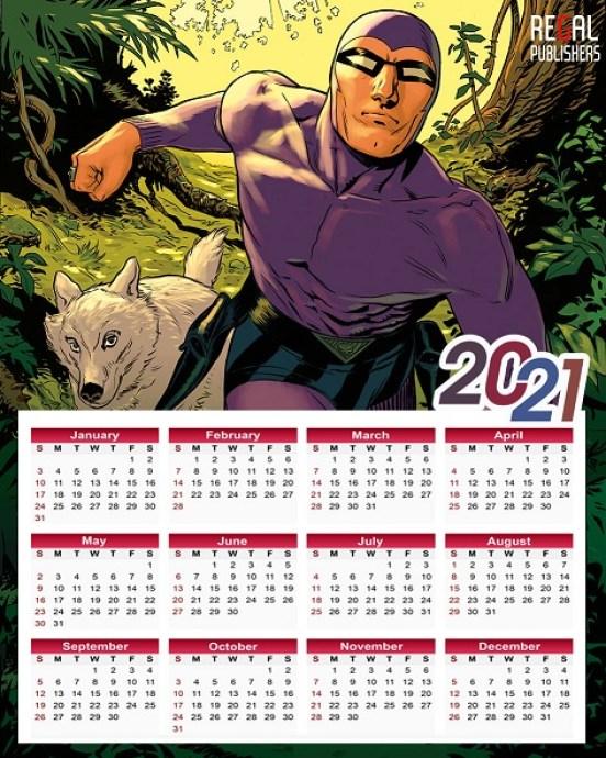 Regal Publishers - Regal Comics - Phantom