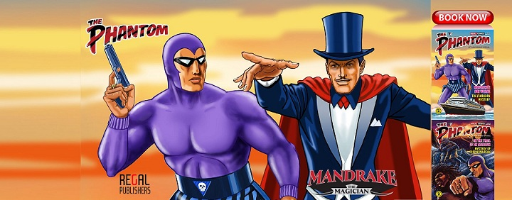 Regal Comics - Phantom & Mandrake