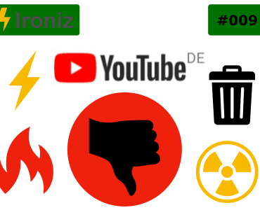 Ironiz #009: YouTube streicht Hater 3