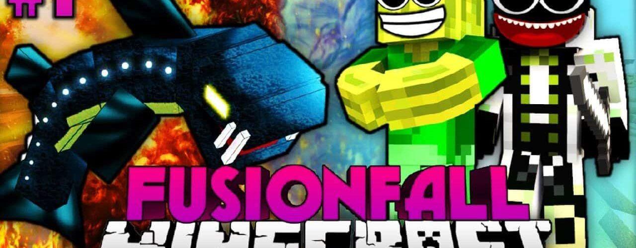Minecraft Fusionfall 1