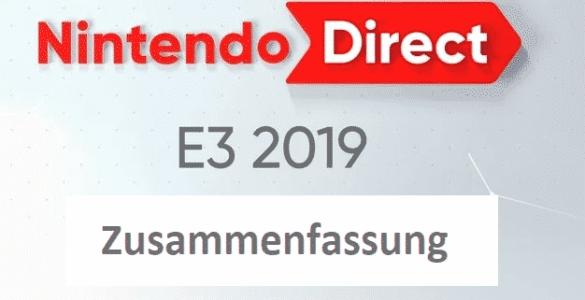 War das geil!!! - Nintendo E3 2019 Zusammenfassung 3