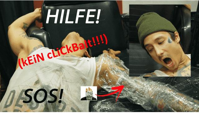 YouTube-Deutschland tätowiert sich! 1
