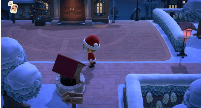 animal crossing new horizons weihnachtsmann outfit