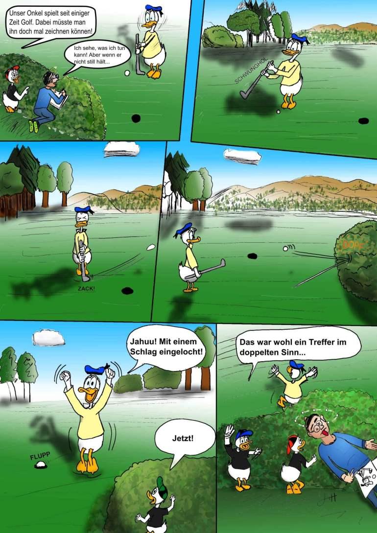 Hinter den Kulissen: Nachruf & Golfball 6