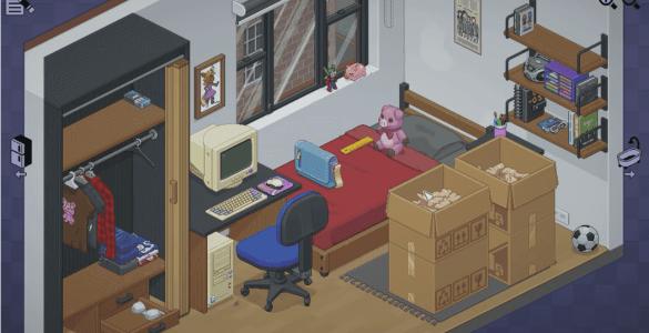 unpacking game videospiel steam