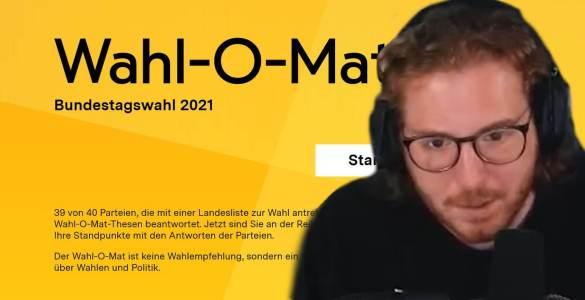 Simon Unge löscht Wahl-O-Mat Video nach Kontroverse 1