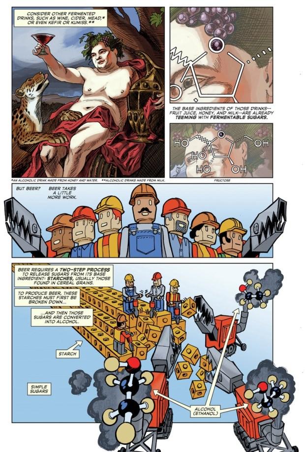 comic story of beer 3
