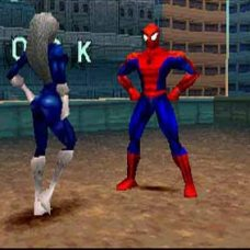 """""""What's up, Spider? Is your Spider Sense tingling?"""" """"Well, something's tingling..."""""""