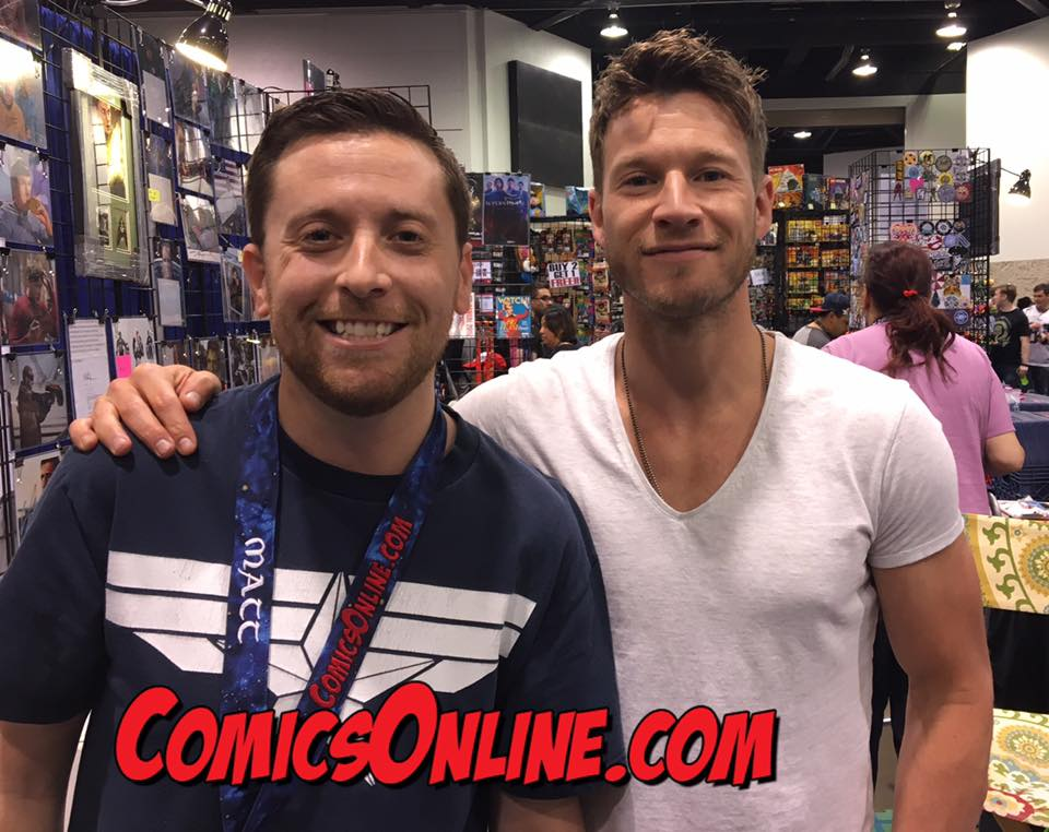 WonderCon 2017 Exclusive Interview: Chad Michael Collins (Once Upon A Time, Sniper)