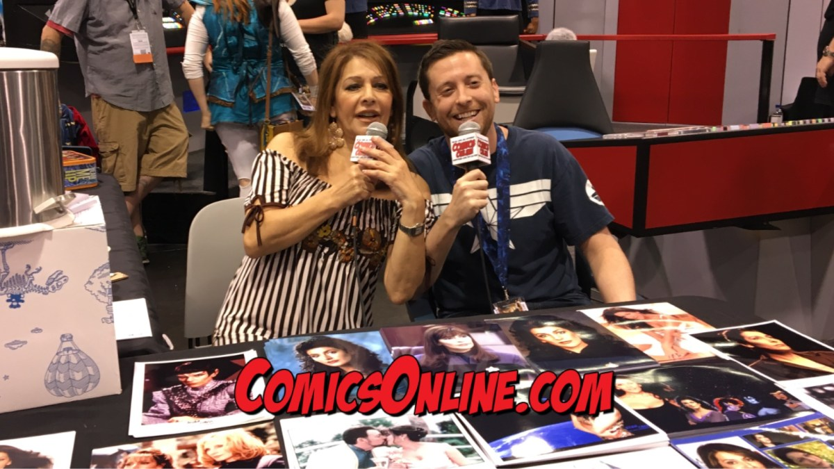 STAR TREK Exclusive Interview: Marina Sirtis at WonderCon 2017