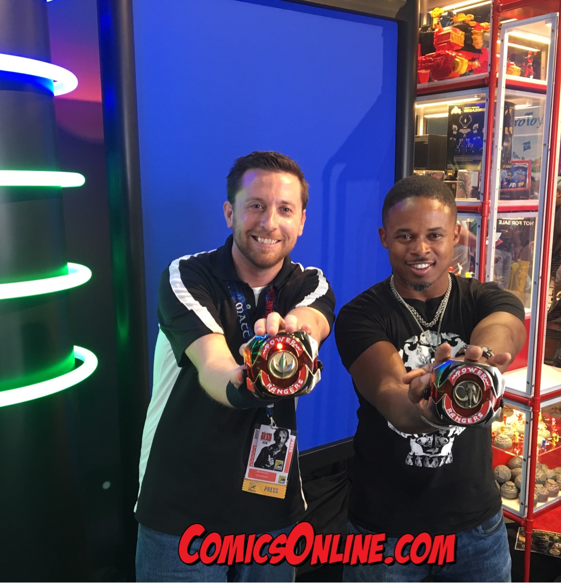 "SDCC 2017 EXCLUSIVE - Power Rangers ""Morphin Training"" with Walter Emanuel Jones"