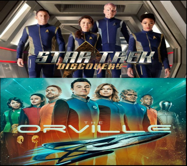 Review: Star Trek: Discovery & The Orville *Spoiler Free*