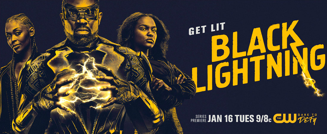 Interview: Black Lightning - Cress Williams and Nafessa Williams