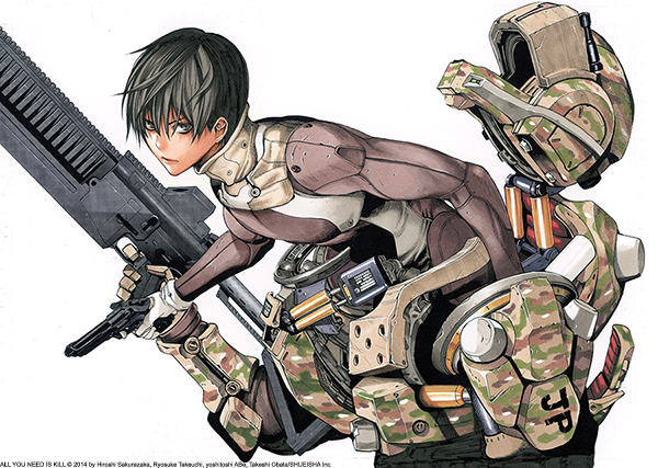 Convention News: Artist Takeshi Obata (All You Need Is Kill) Appearing at New Year Comic Con 2014