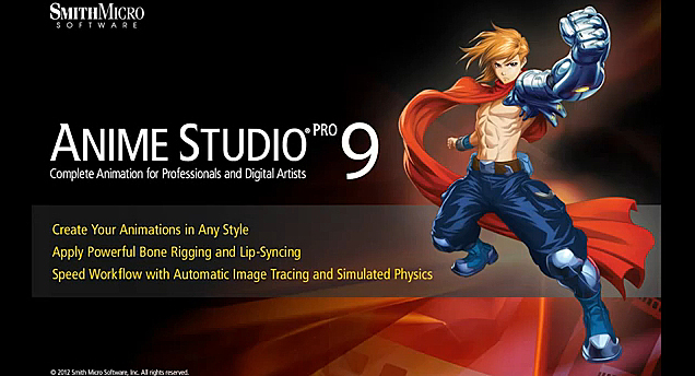Smith Micro Software Giveaway - Anime Studio Pro 9