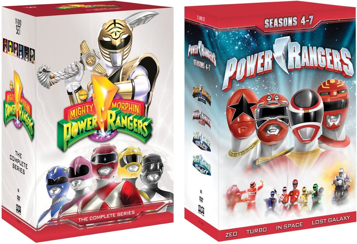 DVD Review: Power Rangers Seasons 1-7 (Part 2: Zeo - Lost Galaxy)