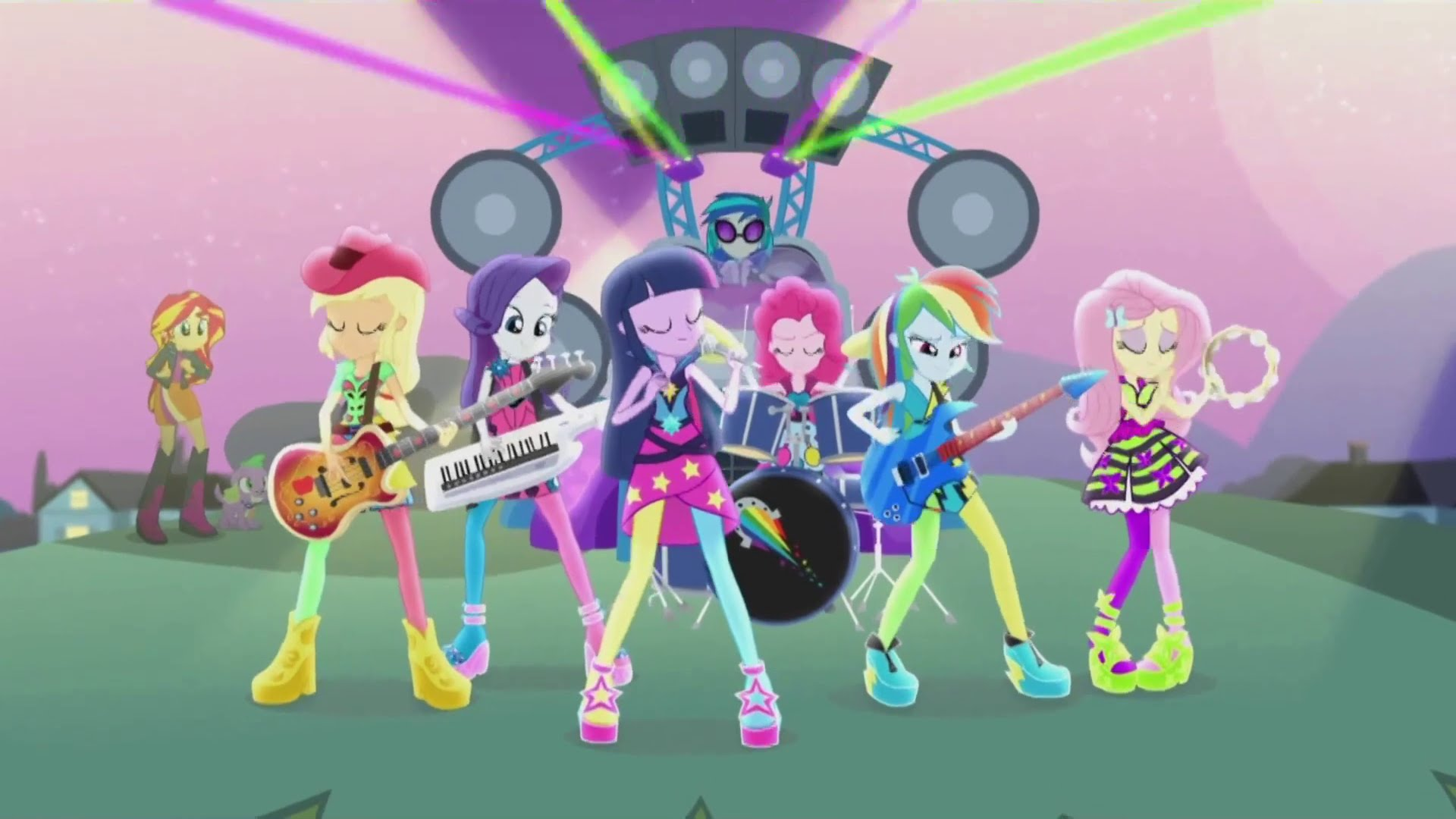 Blu Ray Review My Little Pony Equestria Girls Rainbow Rocks Comicsonline