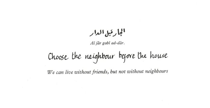 5 common proverbs that arabs cant live without