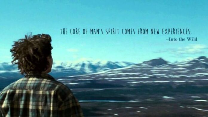 christopher mccandless into the wild adventure quotes